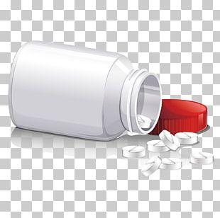 Pharmaceutical Drug Medicine Bottle Illustration PNG