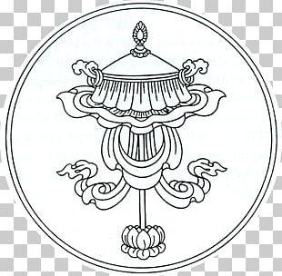 Tibetan Buddhism Buddhist Symbolism Ashtamangala PNG