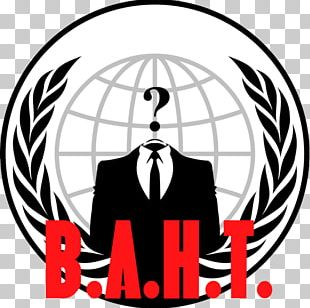 Anonymous Logo Organization Security Hacker PNG