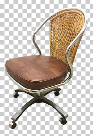 Office & Desk Chairs Wood Armrest PNG