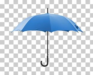 Plain Blue Umbrella PNG