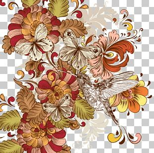 Flower Floral Design Vintage Clothing PNG