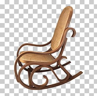 Rocking Chairs Garden Furniture Wicker Wood PNG