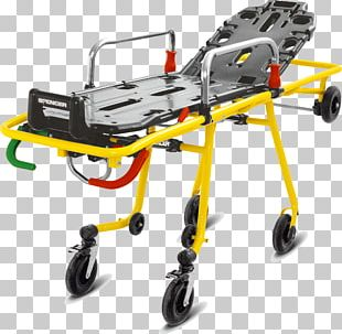 Scoop Stretcher Patient Ambulance First Aid Supplies PNG