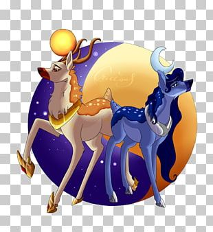 Deer Desktop Illustration Cartoon Computer PNG