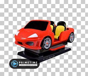 Sports Car Kiddie Ride Game Amusement Park PNG