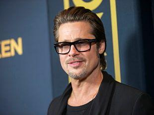 Brad Pitt Hollywood War Machine Actor Film PNG