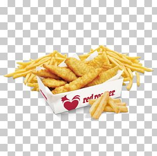 French Fries Fish And Chips Fast Food Deep Frying Red Rooster PNG