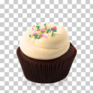 Cupcake Frosting & Icing Muffin Cream Chocolate Cake PNG