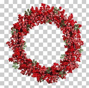 Wreath Christmas Decoration Christmas Ornament Garland PNG
