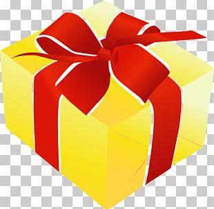 Box Gift Ribbon PNG