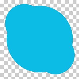 Blue Turquoise Area Aqua Oval PNG