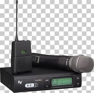 Wireless Microphone Electro-Voice Sound PNG