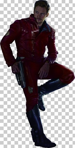 Chris Pratt Guardians Of The Galaxy Star-Lord Rocket Raccoon Drax The Destroyer PNG