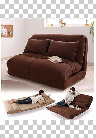 Futon Sofa Bed Couch Mattress PNG