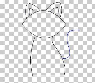 Cat Drawing Coloring Book Como Dibujar Line Art PNG
