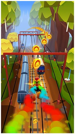 Subway Surfers Match Pairs Kids Memory Game PNG