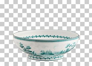 Blue And White Pottery Ceramic Bowl Porcelain Tableware PNG