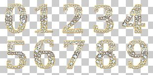 Diamond Digital Data Numerical Digit Computer File PNG