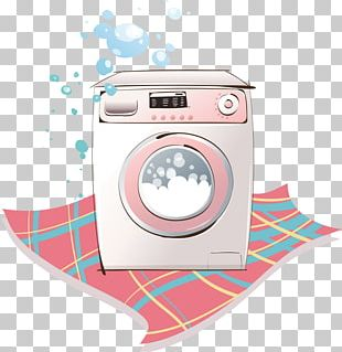 Washing Machine Cartoon Laundry PNG