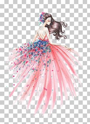 Fashion Illustration Drawing Art Sketch PNG