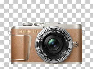 Olympus PEN E-PL9 Mirrorless Interchangeable-lens Camera Olympus M.Zuiko Wide-Angle Zoom 14-42mm F/3.5-5.6 Point-and-shoot Camera PNG