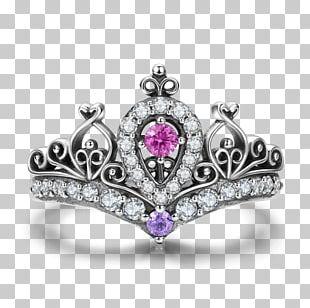 Ring Princess Jewellery Tiara Silver PNG
