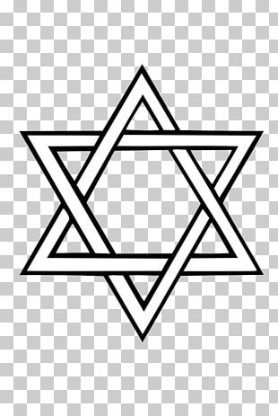 Star Of David Judaism Jewish Symbolism Flag Of Israel PNG