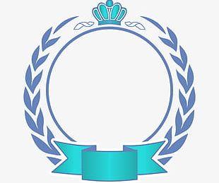 Crown Circular Border PNG