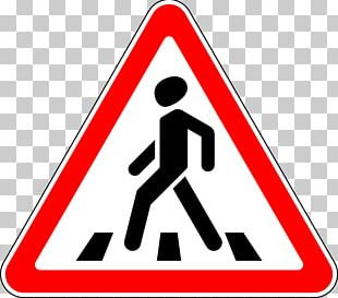 Zebra Crossing Pedestrian Crossing Traffic Sign Stock Photography PNG