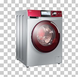 Washing Machine Haier Clothes Dryer Laundry PNG