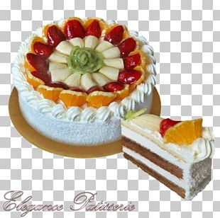 Sponge Cake Cheesecake Bavarian Cream Torte PNG