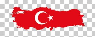 Flag Of Turkey PNG