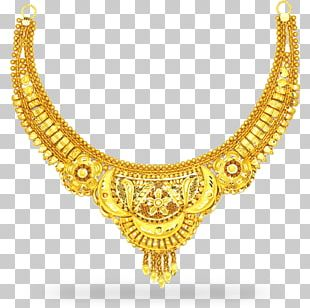 Jewellery Necklace Gold Chain Choker PNG