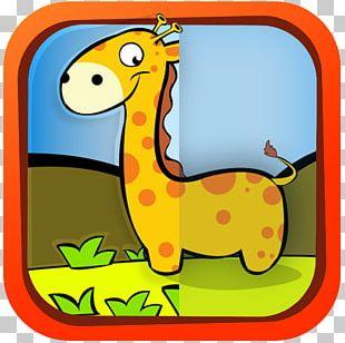 Giraffe Cartoon Terrestrial Animal PNG
