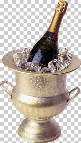 Champagne Wine Birthday Cake New Year PNG