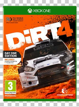 Dirt 4 Dirt Rally Colin McRae: Dirt Xbox One PlayStation 4 PNG