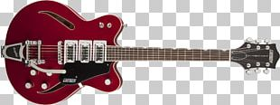 Gretsch Electric Guitar Musical Instruments Semi-acoustic Guitar PNG