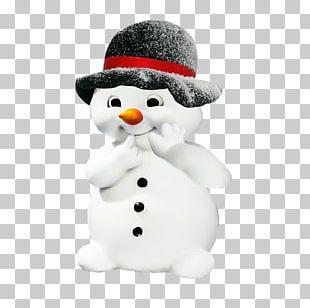 Santa Claus Winter Snowman PNG