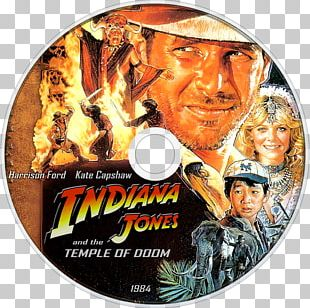 Harrison Ford Indiana Jones And The Temple Of Doom Film Poster PNG