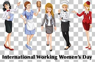 Women Illustrations Woman International Womens Day PNG