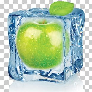 Apple Juice Ice Cream Flavor Ice Cube PNG