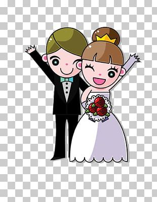 Bride Marriage Wedding Couple PNG