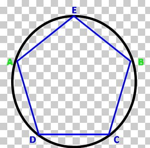 Circle The Pentagon Angle Regular Polygon PNG