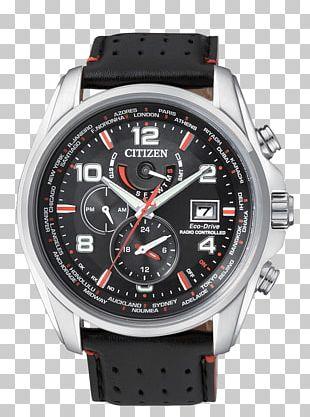Eco-Drive Citizen Holdings Watch Chronograph Radio Clock PNG