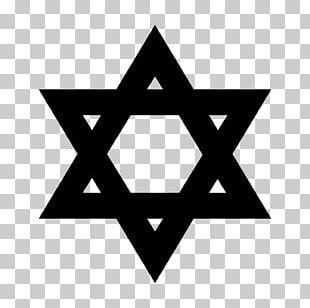 Star Of David Judaism Kippah PNG