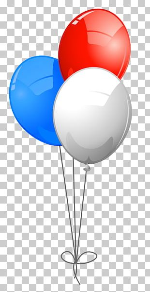 Blue Balloon Red PNG
