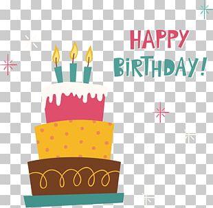Birthday Cake Wedding Invitation PNG
