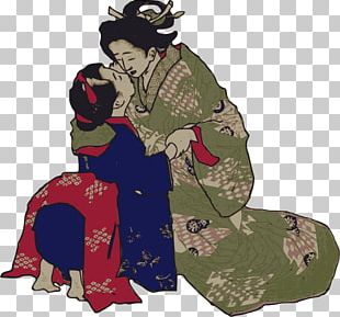 The Kiss Japan Geisha PNG