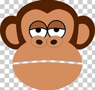 Monkey Cartoon Chimpanzee PNG